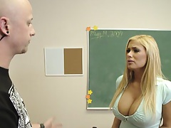 Shyla Stylez is one hot school sweetheart