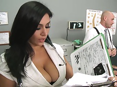 Chayse goes to the doctor to get some orgasm help