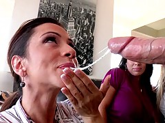 This milf is a true cock sucking whore champion