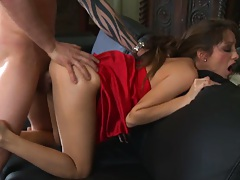 Jenna Haze hardcore doggy style punished and ripped