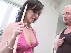Teen Jennifer White out playing some pool