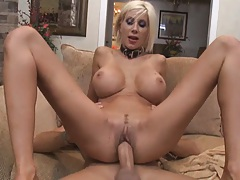 Amaizing spread legs view of a shaved pussy deep fucked