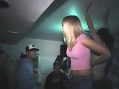 College party with sexy blonde bitches