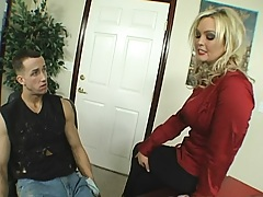 Busty blondie needs a Chrises cock