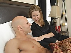 Hot milf get hubry for johnys big dick