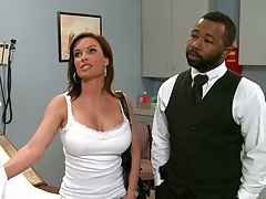 Doctor adventures with hot busty milf coming for