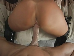 Amazing moans during backdoor penetration