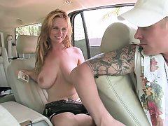 Natural big tits from tits burger and Violet Addamson