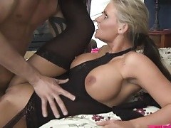Phoenix marie hold her ass as she is thrusted
