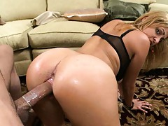 Nice ass gets doggy penetrated what a beauty