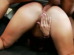 Kelly fucked anal style with ass to mouth and cumshot