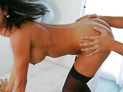 Ass licking and rimming Frenceskas nice ass