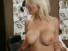 Big tits blonde office sex with Lexi Swallow then pov deep throat