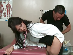 Doctor with no panties hmmm thats news