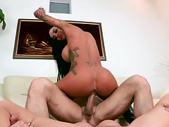 Cowgirl in 3some punishment Angelina Valentine and Amy Brooke
