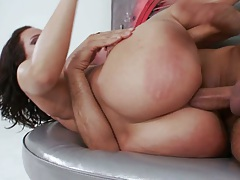 Sideways anal with Jada Stevens and ass to mouth sucking dirty cock