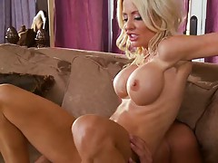 Helly Mae reaches for blowjob and fucked from rear