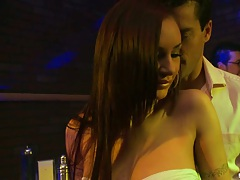 Big tits at work with Amy Reid after hours