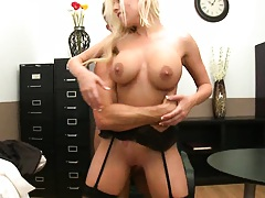 Big boobies up for a titty fucking and some cock sucking