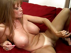 Milf strocking and touching black cock