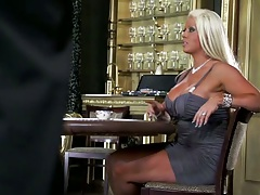 Butler commits the milf banging crime with Abbey Brooks