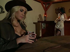 Alanah the dirty minded bounty hunter looks cock