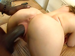 Adrianna Leigh takes on a huge black cock with cowgirl
