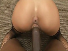 Doggy style pov fucking Angelina Valentine from behind with big black dick