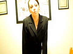 Hot gf at the office home style video