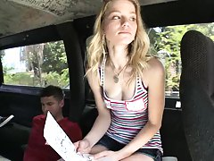 Maxx got a hottie for a few bucks on bangbus