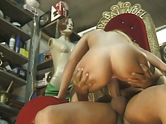 Camila cowgirl and close up anal doggy style