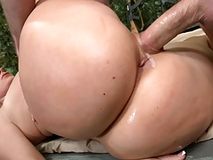 Sideways big round ass fucking devon
