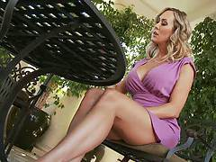 Hot milf with big tits Brandi