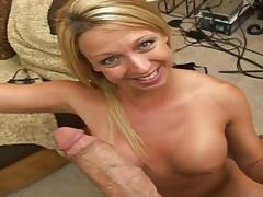 Pov blowjob and facial ejaculation shots for this biatch