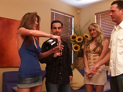 Milf group swappers with Alana Evans and Kayla Paige