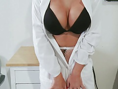 Doctor Adventures with big tits hot babe