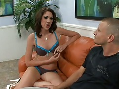 Katie Angel gets fingered for squirting