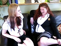 Monika Maple and Jennifer Van Beaver with bbw lesbian loves