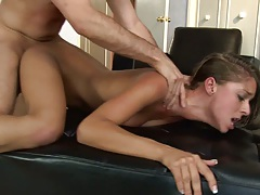 Rough punishment revenge with Presley Hart sex and facial ejaculation