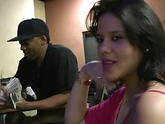 Money talks at the bar having a drink
