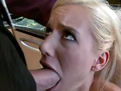 Mariah Madysinn gets deepthroat punished