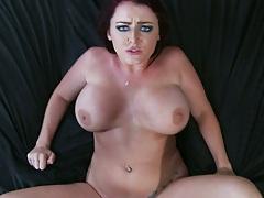 Nice big tits jiggle while she is penetrated