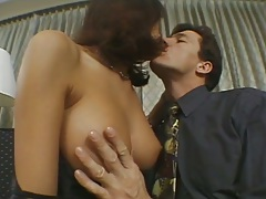 Making out and kissing with natural tits Rebeca White