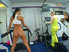 Nice ass sporty athletic babes Sophia Castello and Natalia Woods