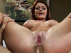 Shaved pussy big tits Sophie Dee anal fucking