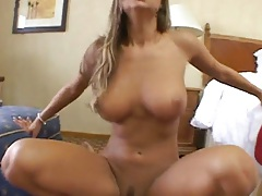 Big tits Amy Reid anal fucking sitting on cock and ass to mouth blowjob