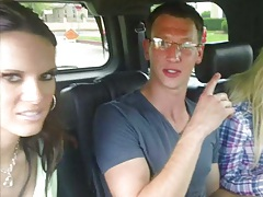 Jennifer Dark with Tasha and Christa Mour on fuck