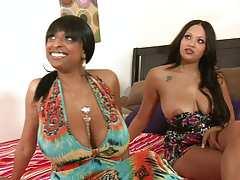 40 oz bounce Ebony and Carmen