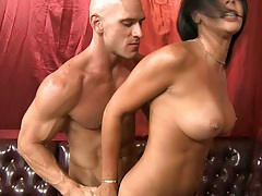 Big boobs Rachel Starr gets fucked and licked