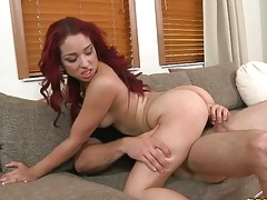 Cowgirl cock sitting from Foxxy Star and blowjob